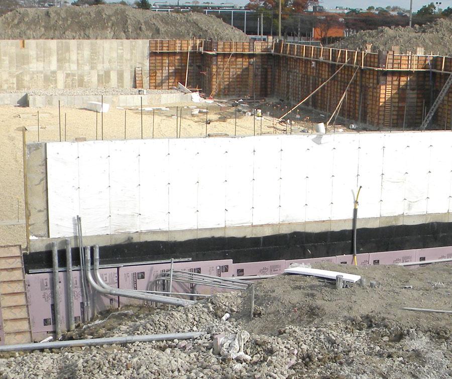 HUNUMAN MANDIR SPRITUAL CENTER-Flatwork--poured -foundation